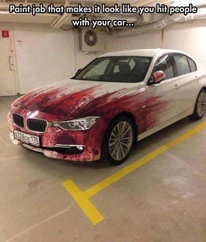 Funny Memes - killer paint job