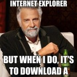 Funny Memes -internet explorer