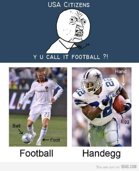 Sports Memes - Football or Handegg