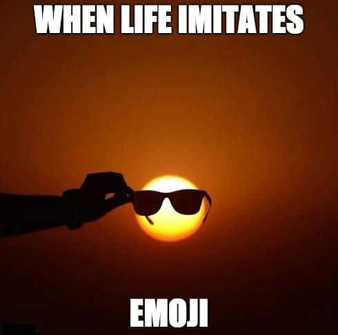 When Life Imitates Emoji