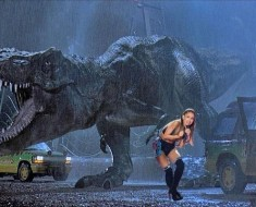 ariana grande vs dinosaur
