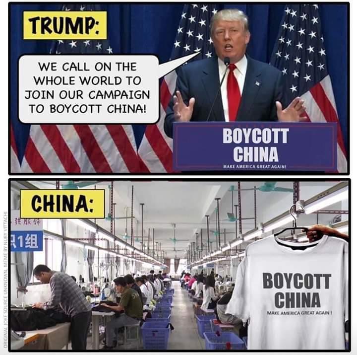 Boycott China Meme