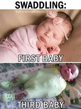 FIRST BABY VS THIRD BABY